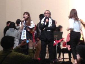 植松伸夫さんと司会者さん①