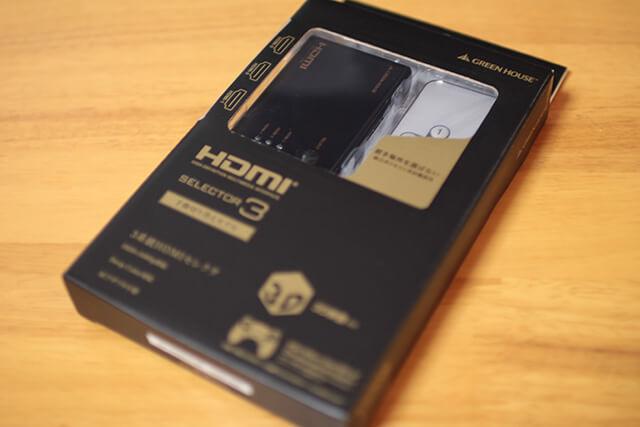 グリーンハウス HDMI切替器